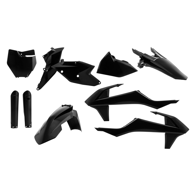 Acerbis 2421065909 Plastic Kit Black//Orange//White