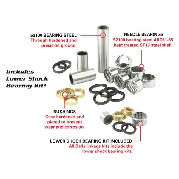 All Balls 27-1104 Linkage Bearing Kit