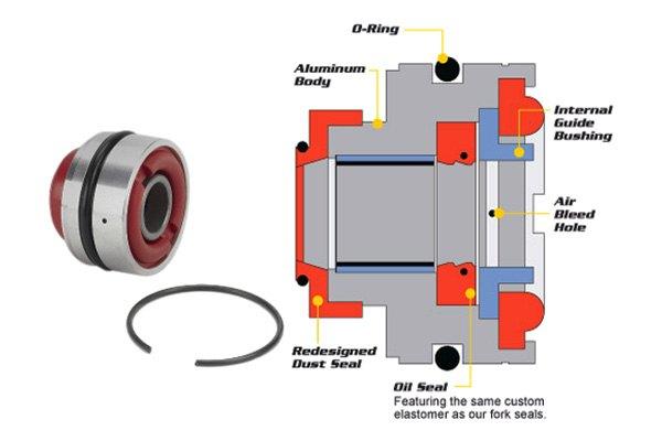 All Balls® 37-1007 - Shock Seal Head Kit
