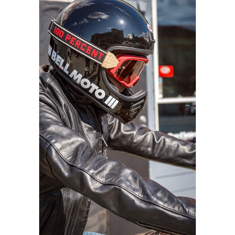 Bell Moto 3 >> Bell 7080631 Moto 3 Medium White Off Road Helmet