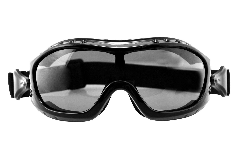 b4e1c84aee6 Bobster® BHAWK01 - Night Hawk Gloss Black Goggles (Large
