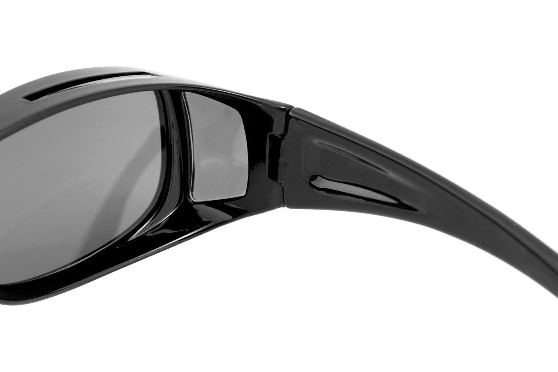 7b3bd59a08a Bobster® ECDS002 - Condor II Adult Gloss Black Sunglasses (Large ...