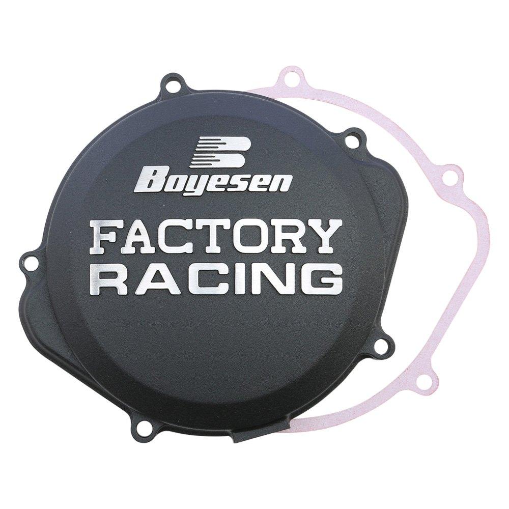 Boyesen CC-38CB Black Factory Racing Clutch Cover Clutches ...