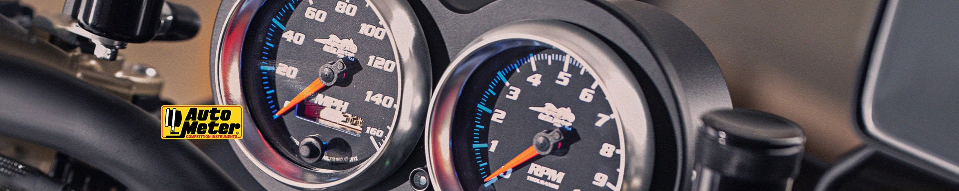 Auto Meter™ | Motorcycle Products at MOTORCYCLEiD com