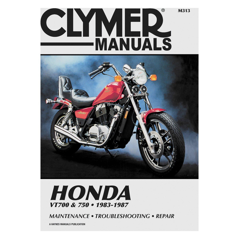 Clymer® M313 - Honda VT700 and VT750 Shadow 1983-1987 Manual
