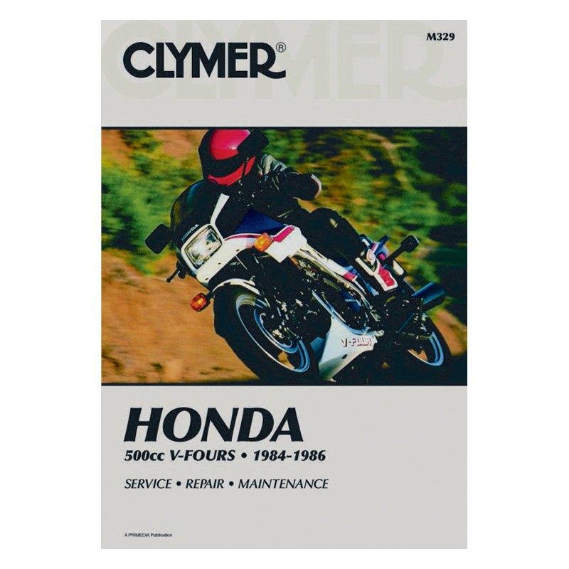Clymer® - Honda 500cc V-Fours 1984-1986 Manual