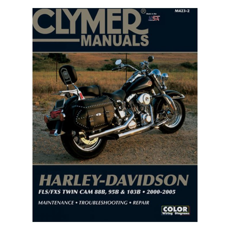 Clymer Workshop Manual Harley-Davidson FLS//FXS Twin Cam 88B 95B /& 103B 2000-2005