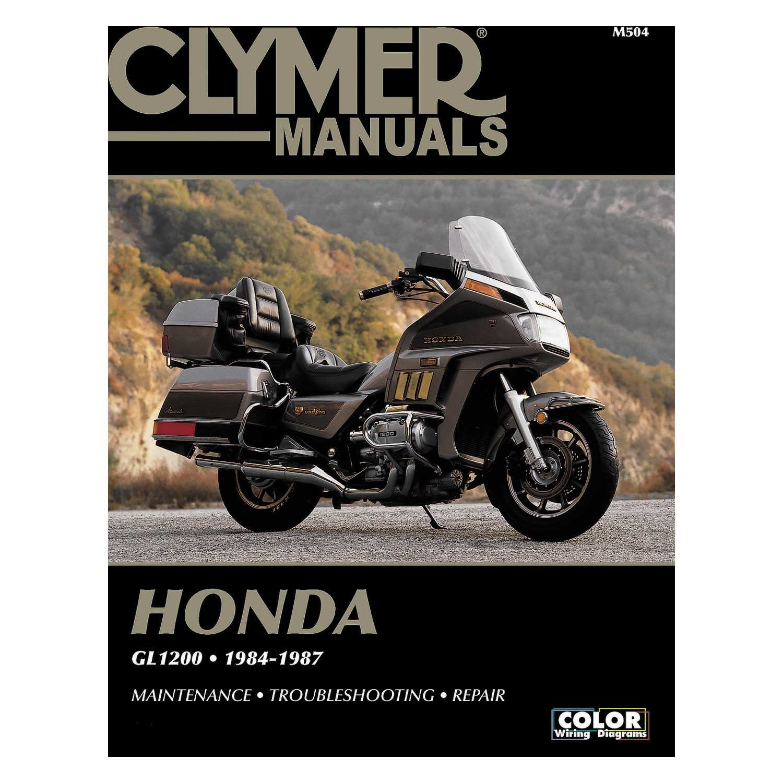 Honda Gold Wing GL1200 Repair Manual 1984-1987