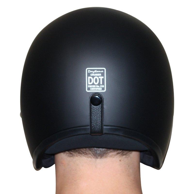 Built For Speed Motorcycle Helmet DC6-BFS Daytona Helmets Cruiser Open Face