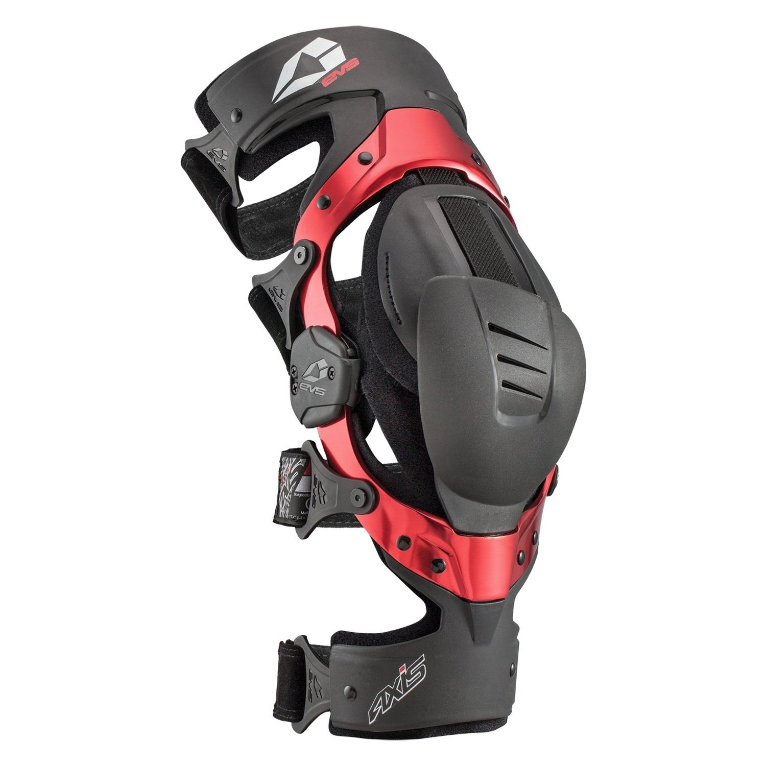 d2837e7ca4 EVS Sports® 212050-0137 - Axis Sport Right X-Large Black/Red Knee ...