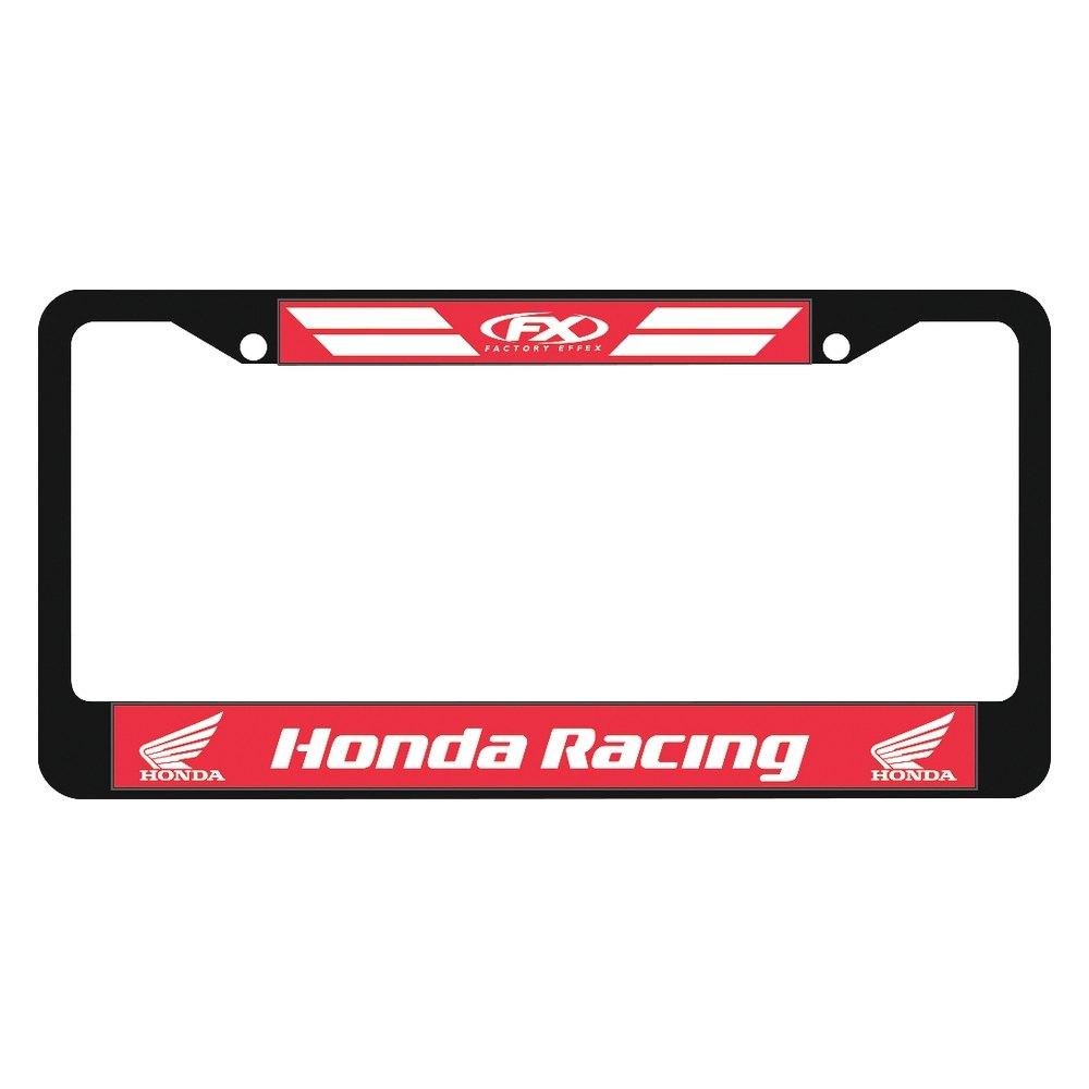 Factory Effex 174 19 45300 Honda Style License Plate Frames