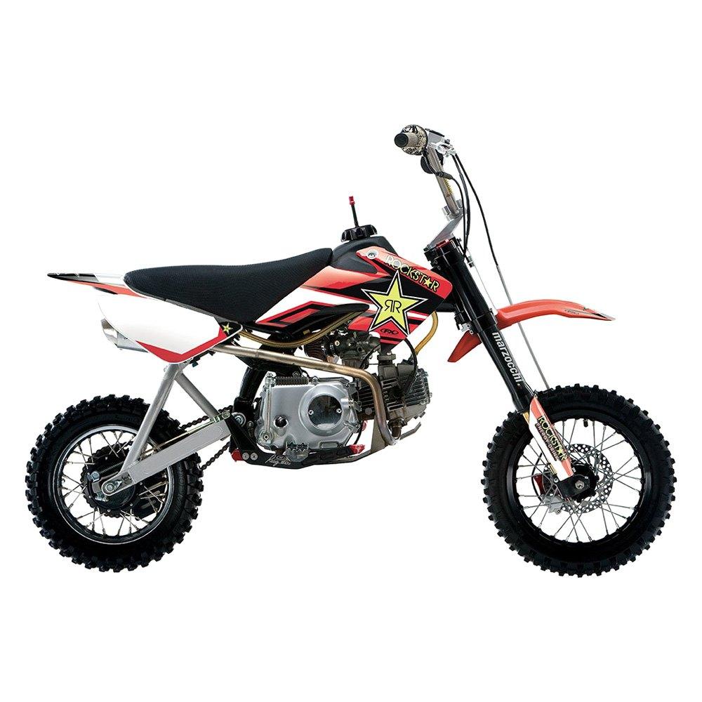 factory effex 21 03350 pit bike rockstar graphic kit. Black Bedroom Furniture Sets. Home Design Ideas