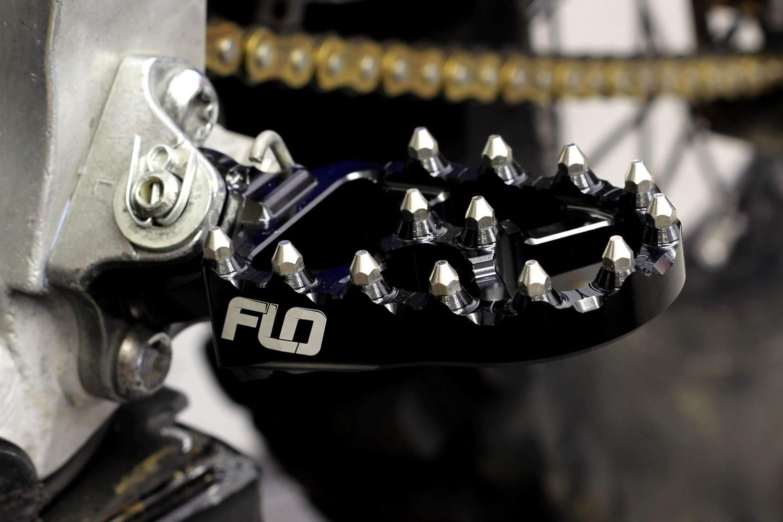 Flo Motorsports Pro Series Foot Peg FPEG-793BLK