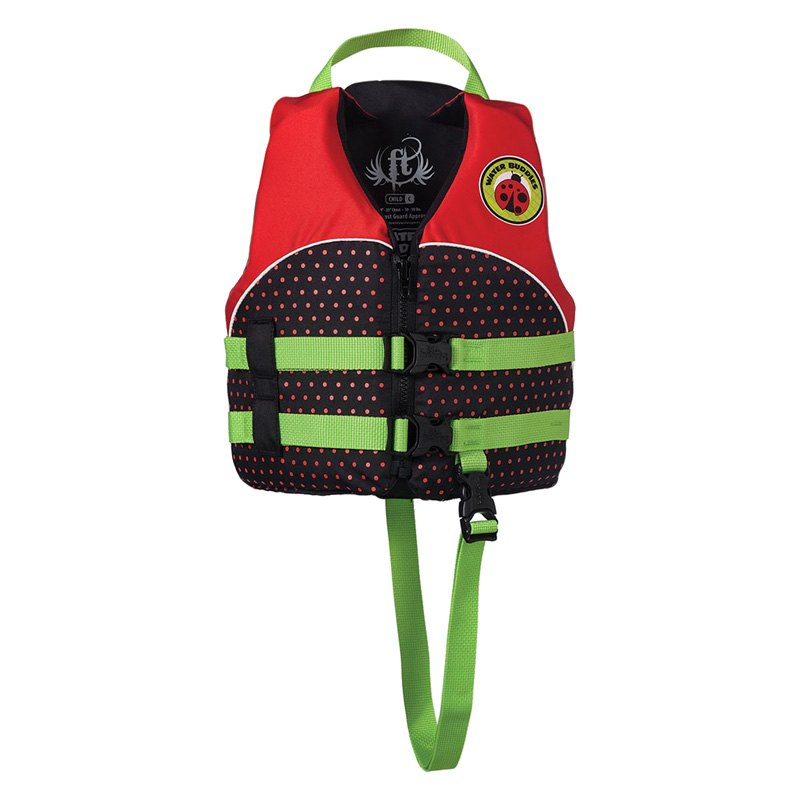 8c70cdb2600 Full Throttle® 104300-100-001-14 - Water Buddies Child Ladybug Life ...