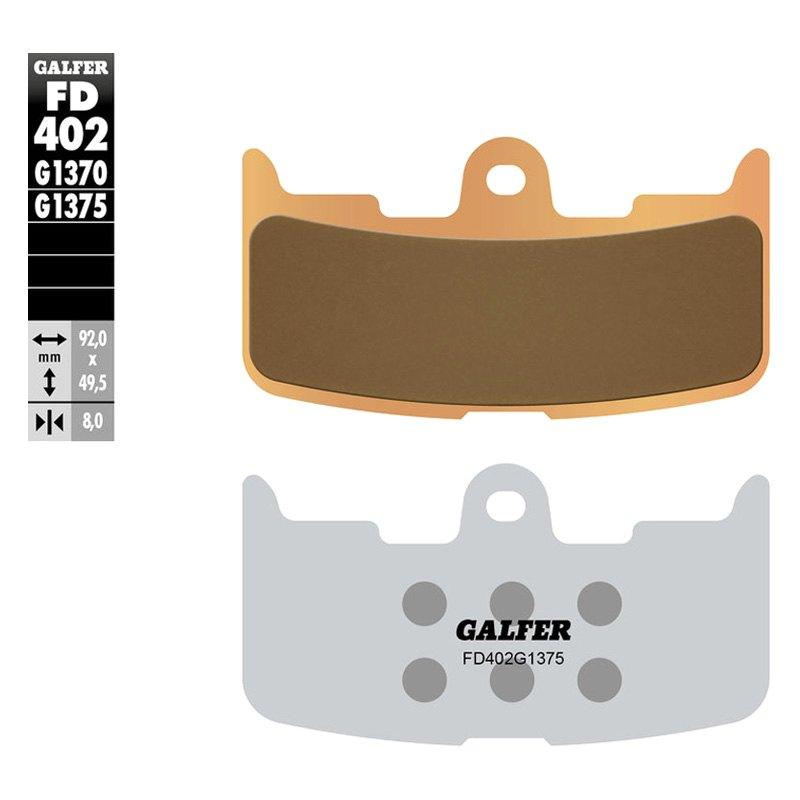Galfer FD176G1375 HH Sintered Advanced Ceramic Brake Pad