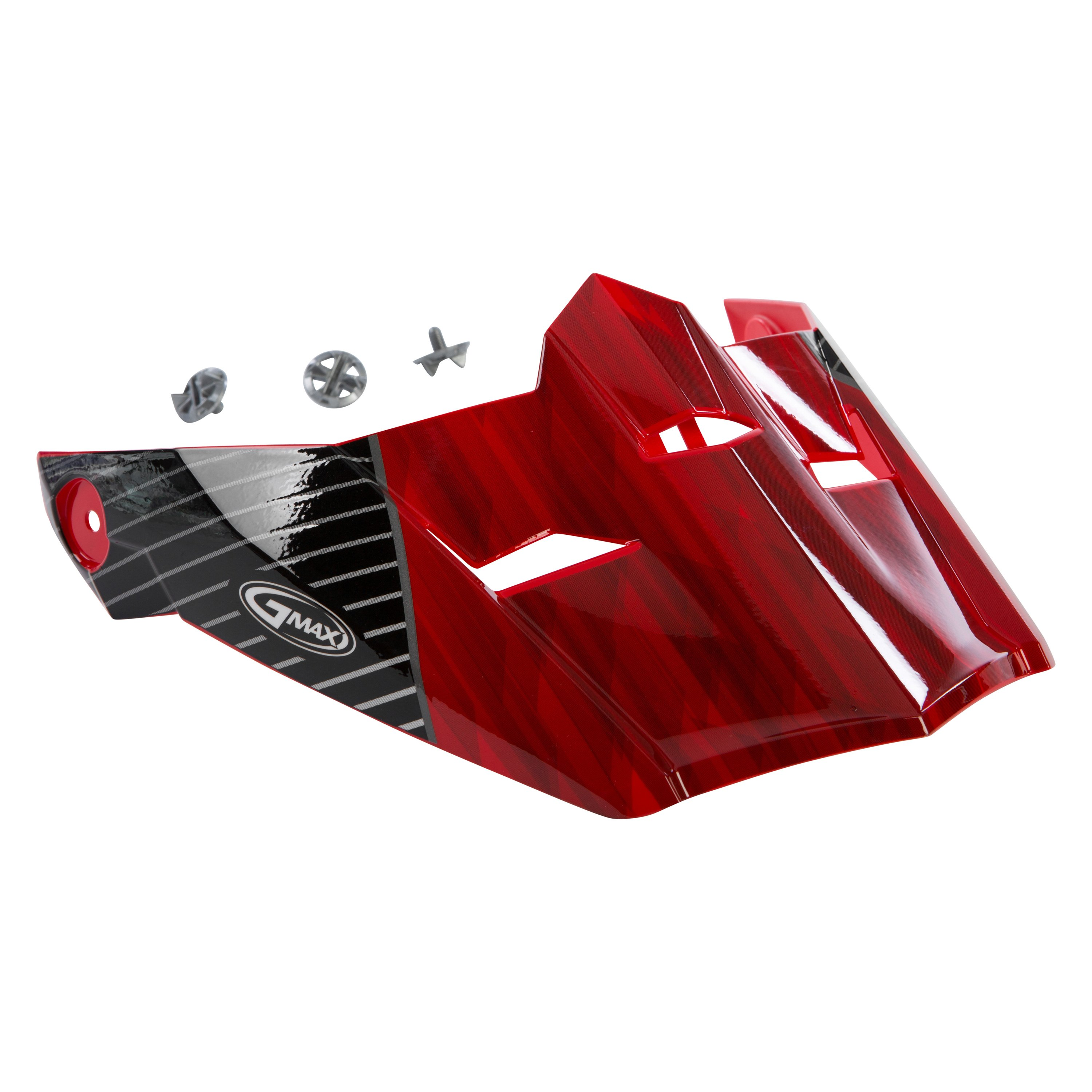 Gmax 174 G046886 Small Large Red Black Visor For Mx 46y