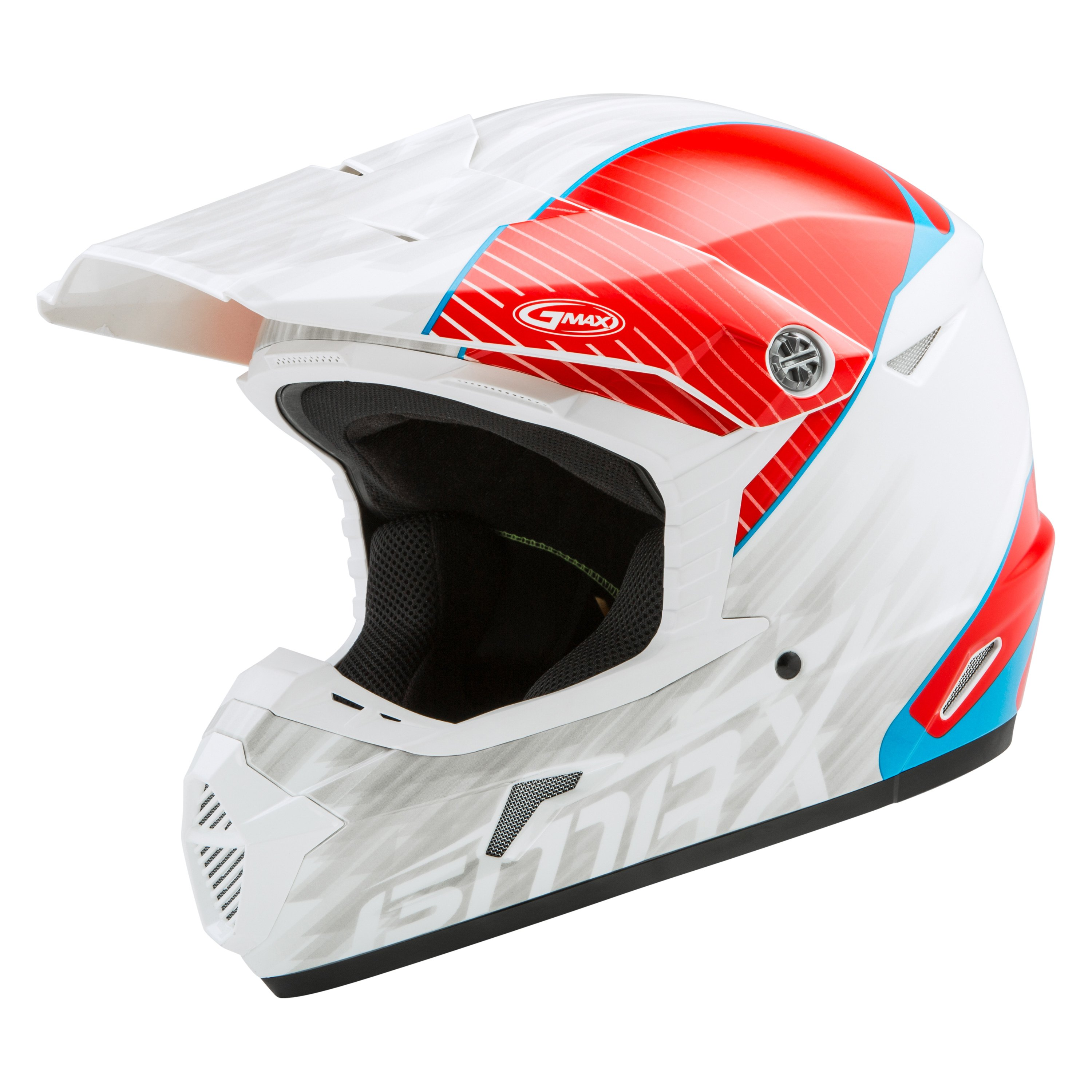 Gmax 174 G3463010 Mx 46y Offroad Colfax Small White Red