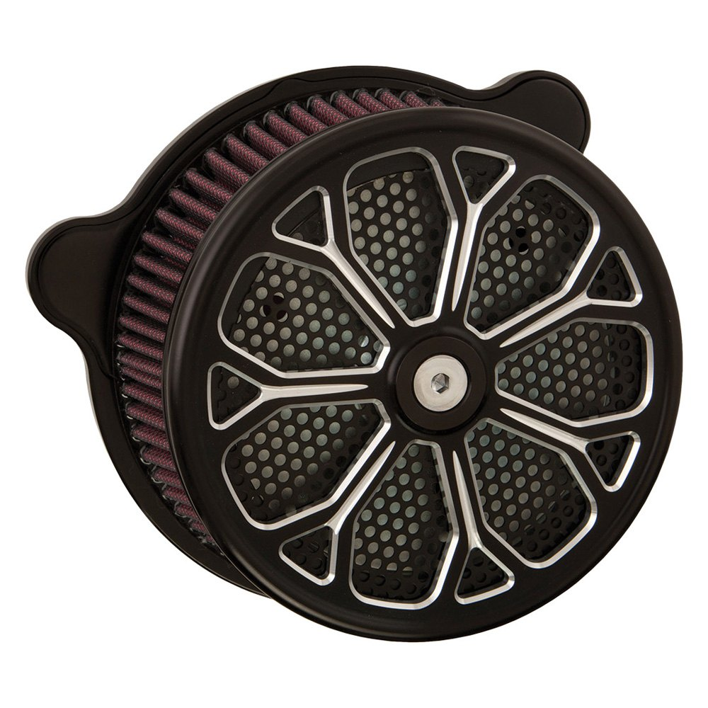 HardDrive F2121A-ACTBW Luck Black Air Cleaner Assembly