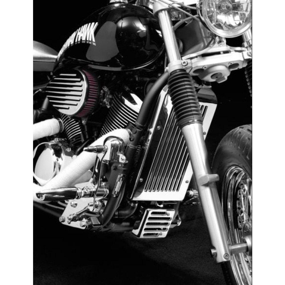 Highway Hawk® HH-713-6321 - Radiator Cover - MOTORCYCLEiD.com
