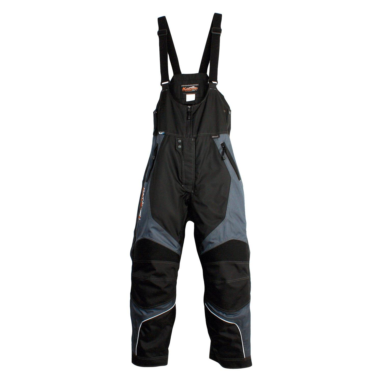 Katahdin Men/'s X2.5 Gray Insulated Waterproof Snowmobile Snow Sports Bib Pant
