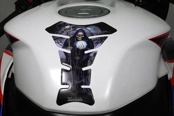 KEITI Motorcycle Bike Tank Pad Protector KT8370 Reaper