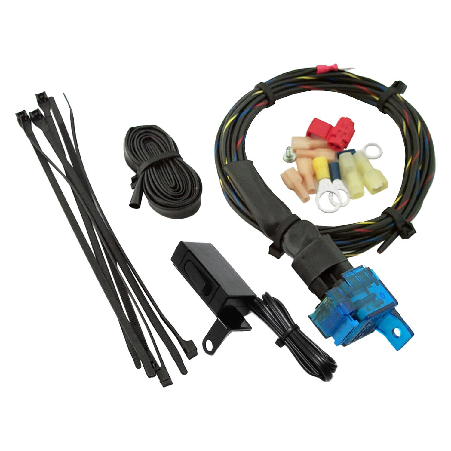 Handlebar Wiring Harness With Switches on racing switches, motor switches, ignition switches, lever switches, battery switches, headlight switches, hub switches, brake switches,