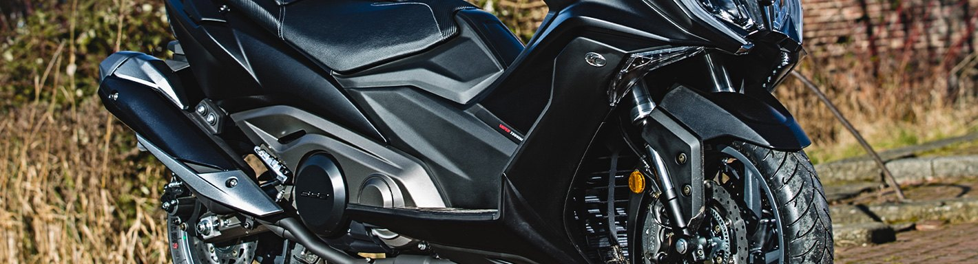 KYMCO Scooter Accessories | Seats, Covers, Saddlebags