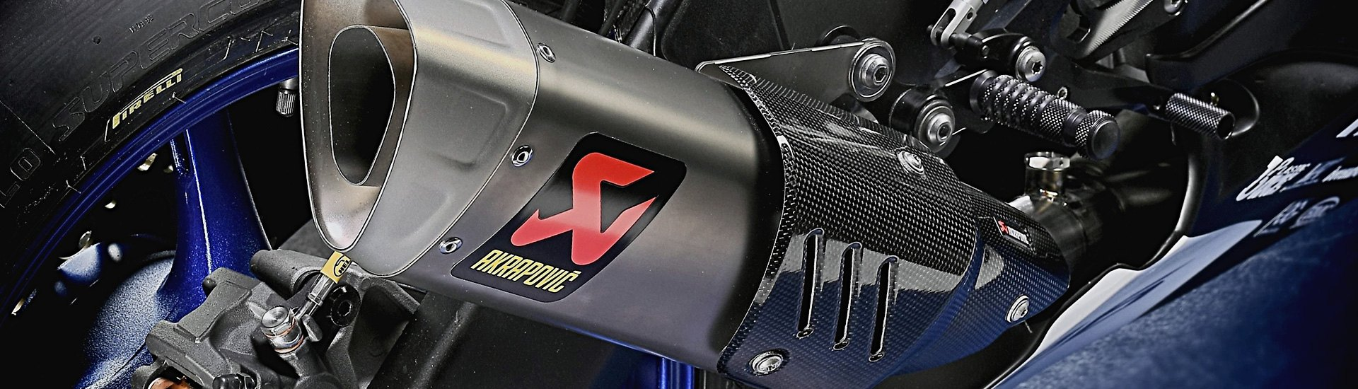 Motorcycle Exhaust Parts | Mufflers, Slip-Ons, Pipes, Tips