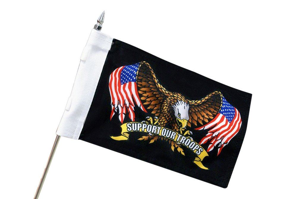 Silver For Dirt Bikes 480 Racing Flag Mount