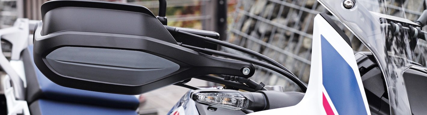 """Black Deflector Hand Guard Armor XC Pro Protector Fit For Most Motorcycles1-1//8/"""""""