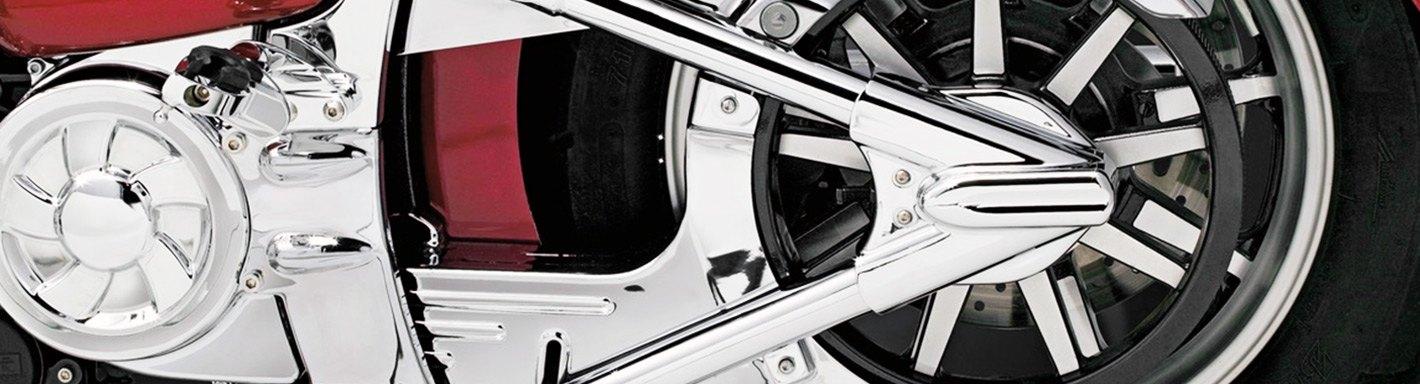 Suzuki Intruder 1400 Frame Plug Caps with Swingarm Cap