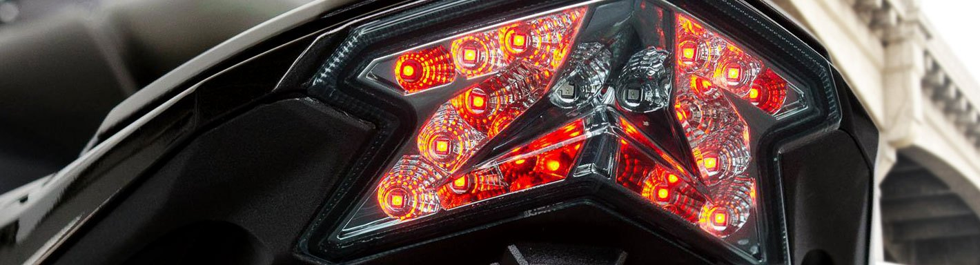LED Taillight Strip Signals For Yamaha Majesty Vino Zuma Morphous Razz