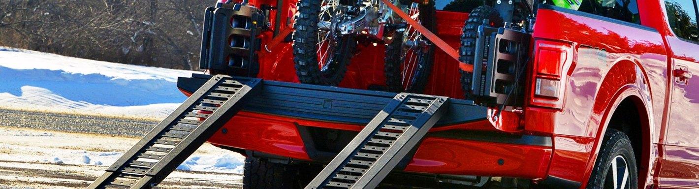 Motorsport Products 7 Foot V-Ramp-Motorcycle,Folding,Dirt Bike,Motocross