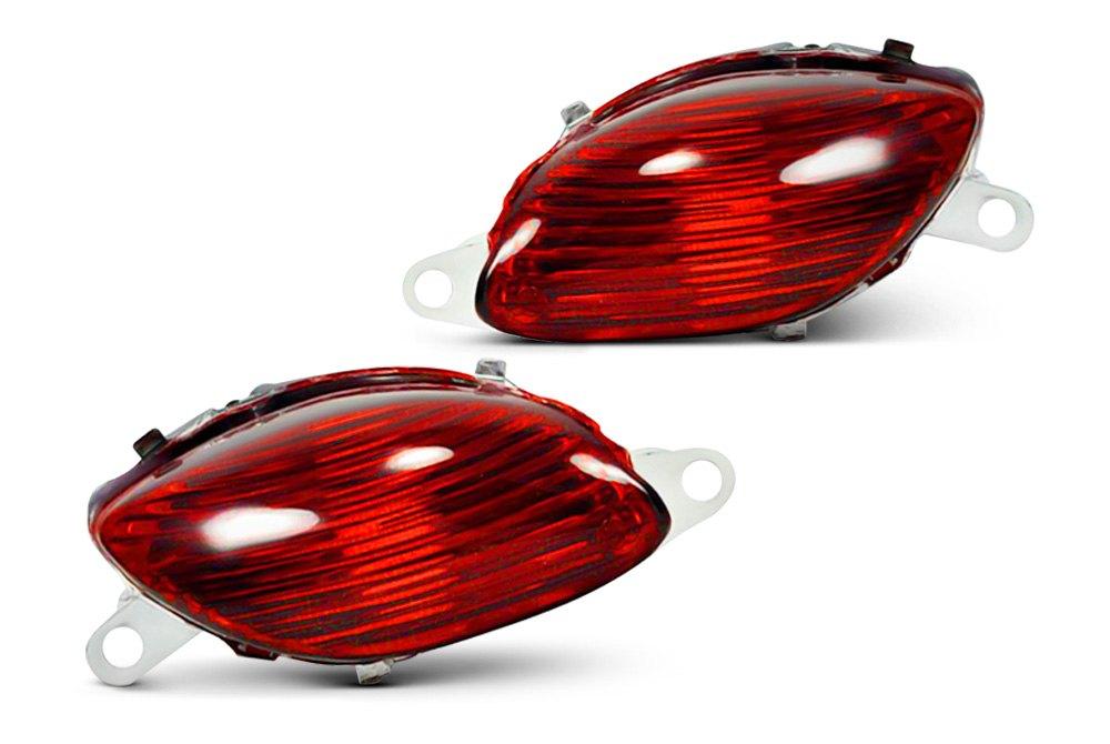 Motorcycle LED Turn Signal Lights   Universal, Handlebar