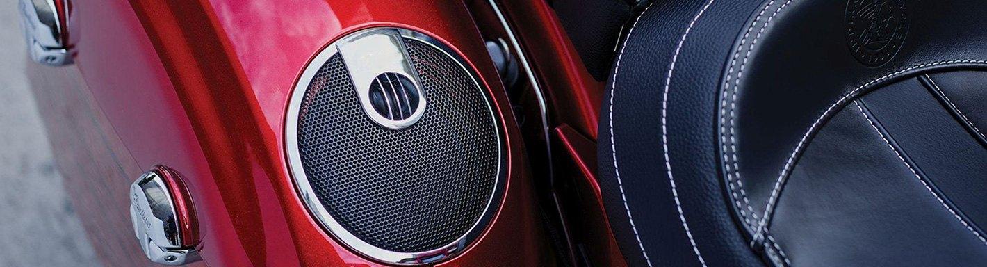 Mustang 77638 Dave Perewitz Signature Saddlebag Lid Cover