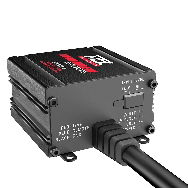 Mtx Mud Series Class D 2 Channel 200w Amplifier 3 Amp Wiring Diagram Amplifiermtx