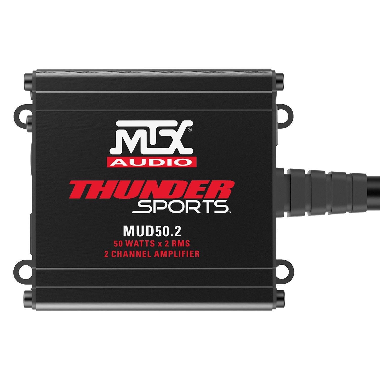 Mtx Mud Series Class D 2 Channel 200w Amplifier 3 Amp Wiring Diagram