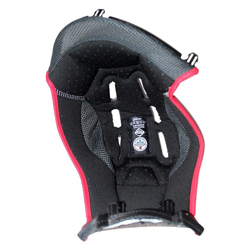 Nolan Helmets 174 Sprin00000657 Medium Black Red Liner For