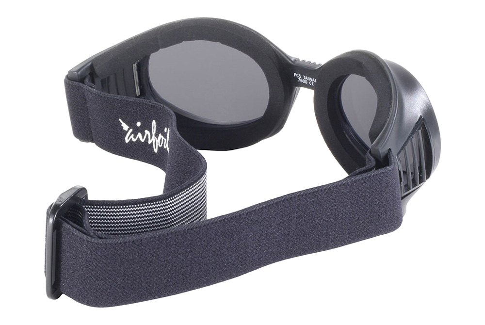 32c8ea67f8a ... Adult Black Goggles with Interchangeable Lens (Black Frame)Pacific  Coast Sunglasses® - Airfoil Adult Black Goggles with Interchangeable Lens ( Black ...