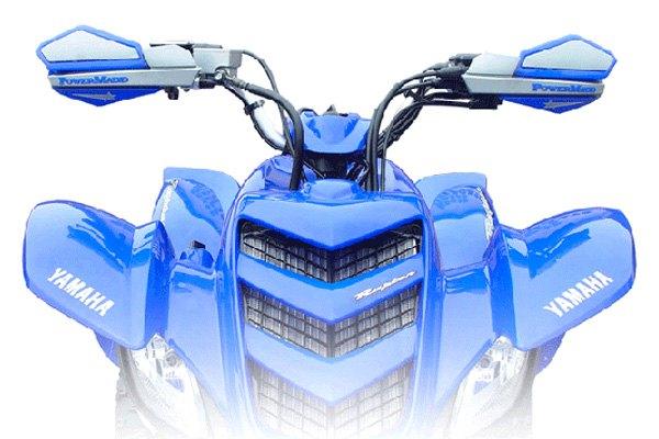 Blue//Silver PowerMadd 34231 Star Series Handguard