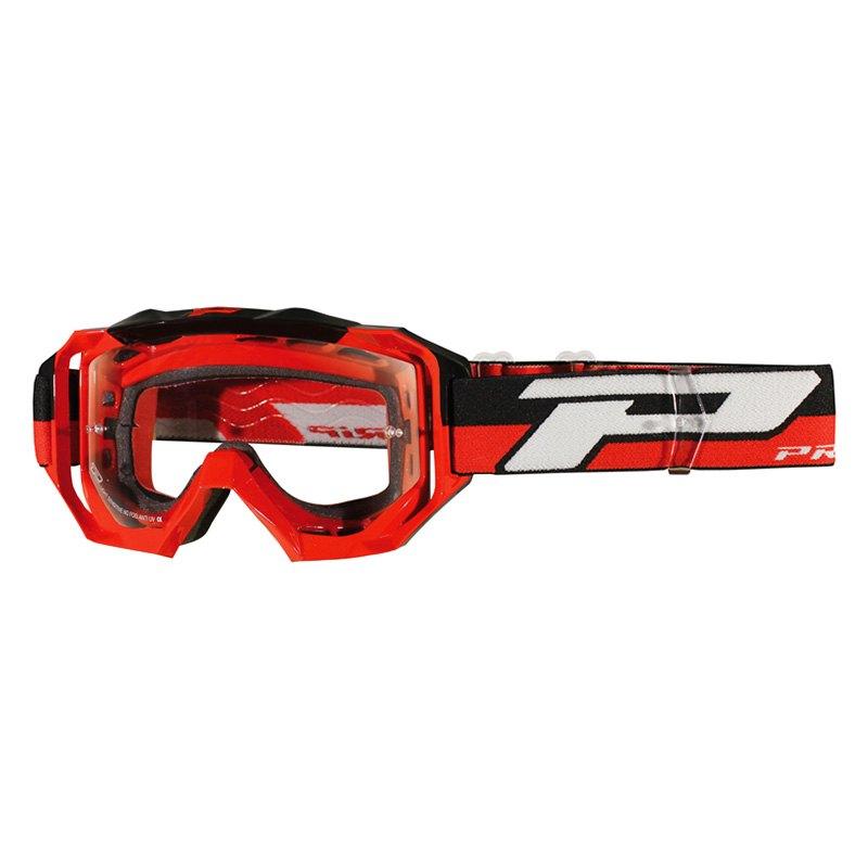 Pro Grip 174 3200 17rd 3200 Ls Mx Venom Series Goggles Red