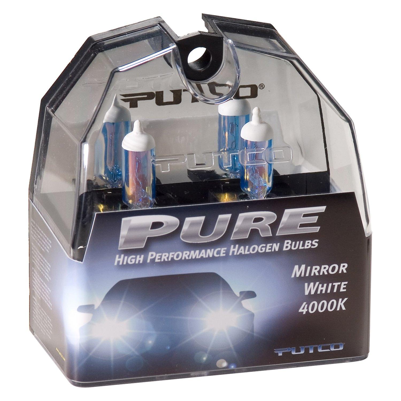 Putco 174 230100mw Pure Halogen Bulbs H1 Mirror White