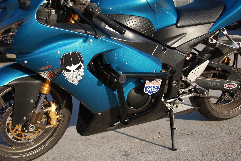Kawasaki ZX600 Ninja ZX-6R Motorcycle Parts RACING 905 905 STUNT