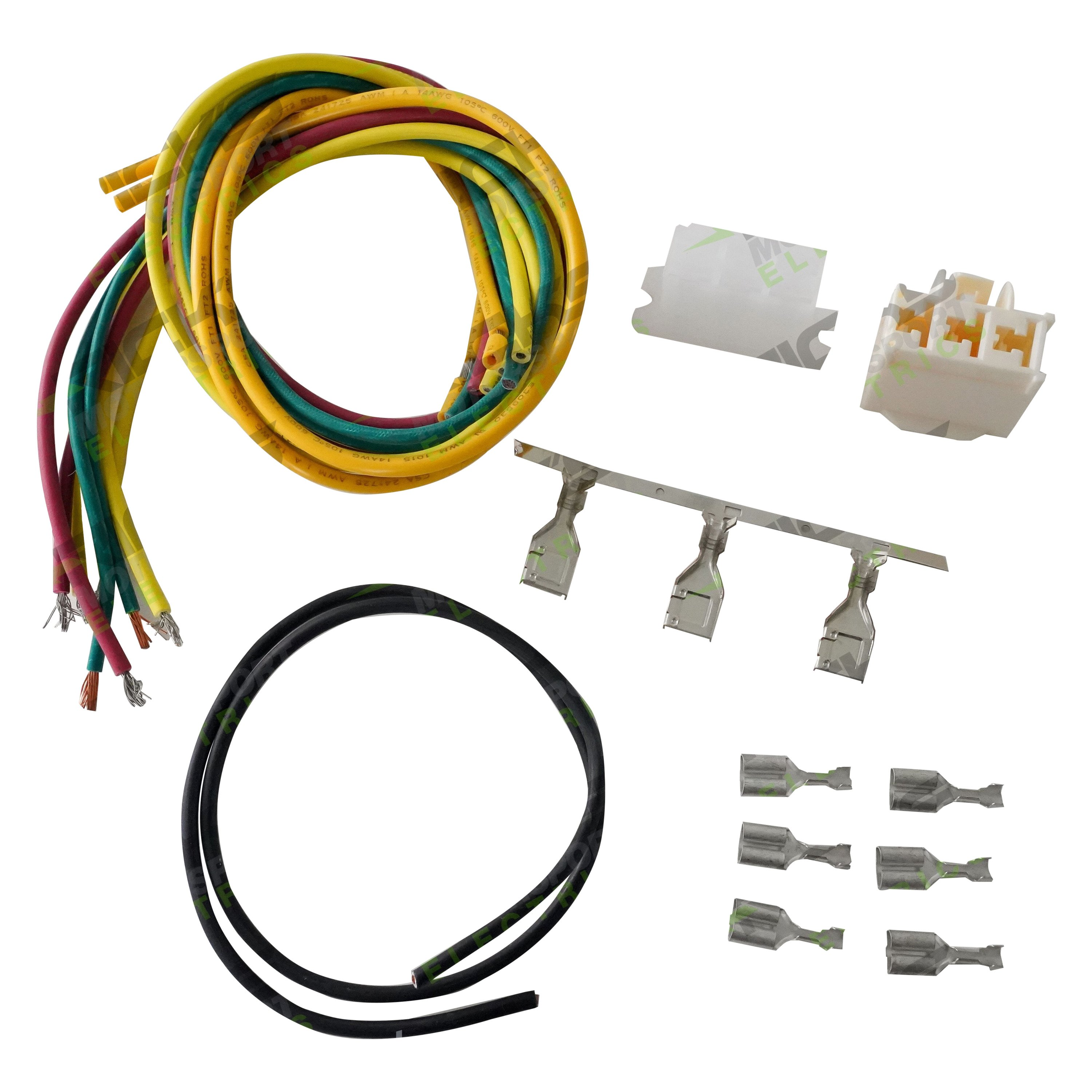 Ricks Motorsport Electrics Wiring Harness Connector Kit Wire Terminals