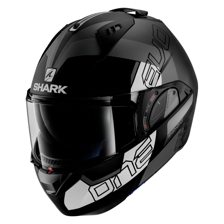 shark helmets evo one 2 slasher matte modular helmet. Black Bedroom Furniture Sets. Home Design Ideas