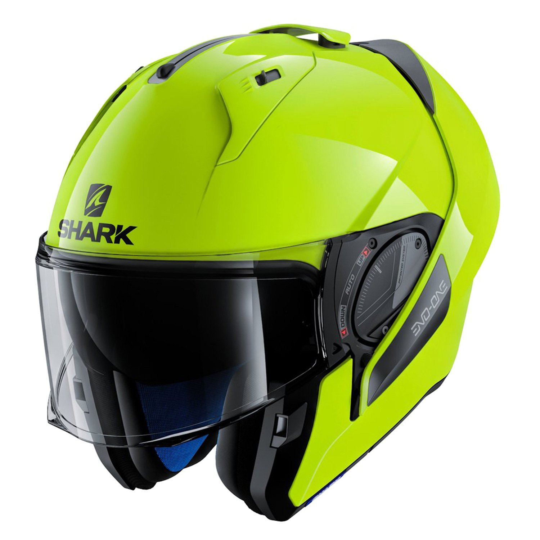 shark helmets he9716dykyxl evo one 2 hi visibility x. Black Bedroom Furniture Sets. Home Design Ideas