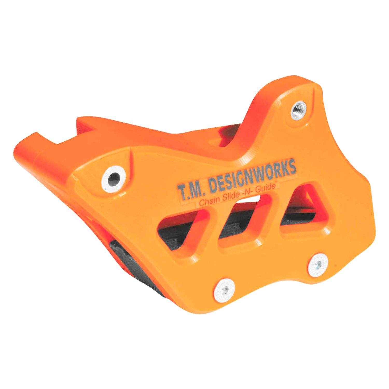 Black RCG-KT3-BK T.M Designworks Factory Edition 2 Rear Chain Guide
