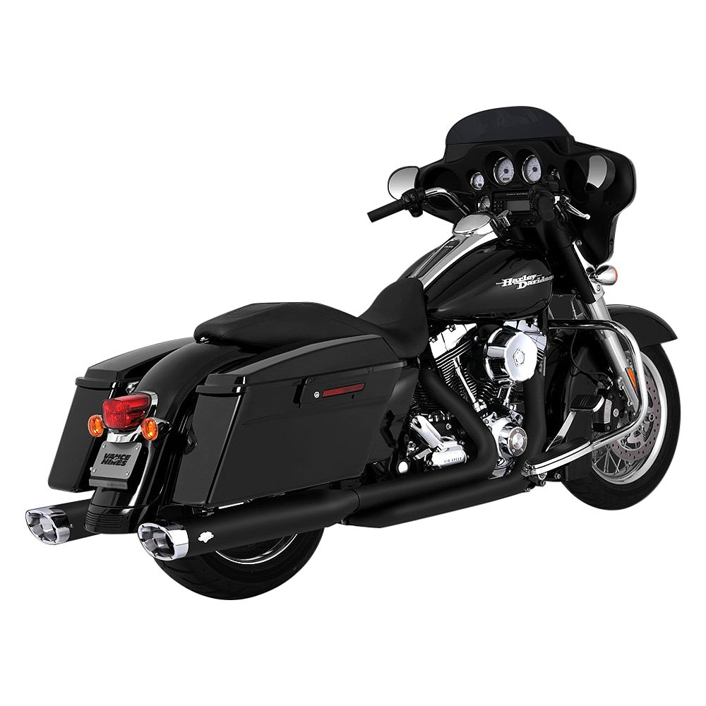 Vance & Hines Dresser Duals Headers For Harley Touring ...