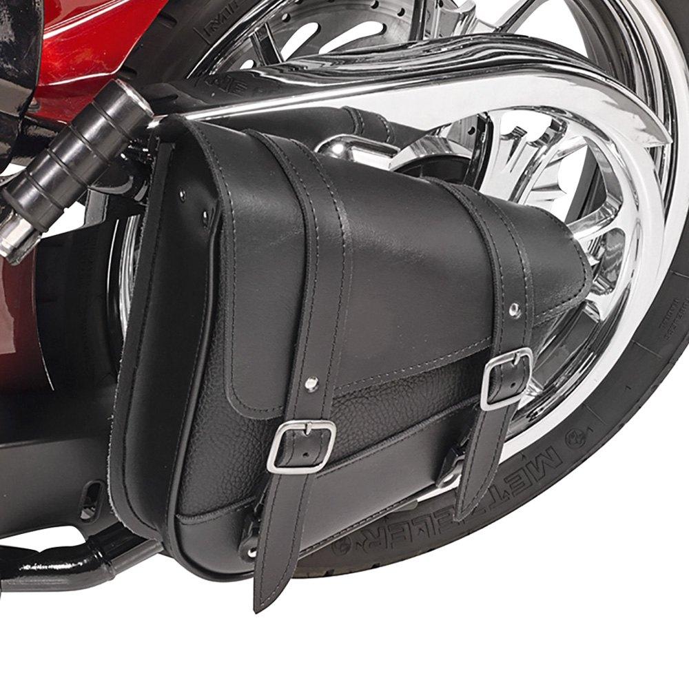 Willie Max 59776 00 Triangulated Black Swingarm Bag
